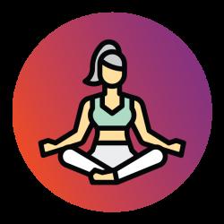 Enage Icons Yoga Purple 1