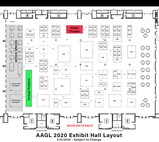 exhibit hall 2 5 2020