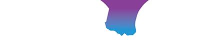 minerva logo white purple